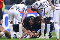 FOOTBALL - FRIENDLY GAME 2010/2011 - FRANCE v CROATIA - 29/03/2011 - INJURY ADIL RAMY (FRA) - PHOTO FRANCK FAUGERE / DPPI