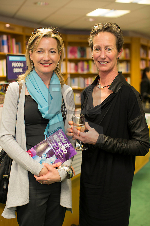 Repro Free: 05/04/2014<br /> Aideen Garvey and Margaret Crerar pictured at the launch and book signing of Veronica Canning's new book 'YOUR Brand' in Dubray Books Blackrock. In her new book, Veronica shows you how to create your Personal Brand and how to develop it into a killer brand that ensures that you can build a fantastic career that will bring you to the top. Whether you are a Senior Executive, Managing Director or a Board Member this book is for you. Picture Andres Poveda<br /> <br /> For further information, imagery, a copy of 'Your Brand' for review or to talk to Veronica Canning please contact : Ann-Marie Sheehan Aspire PR & Marketing T : 087 298 5569 E : annmarie@aspire-pr.com