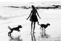 20 October 2013:  Abbie, Blair and Kate Allhusen family photos in Laguna Beach, CA.