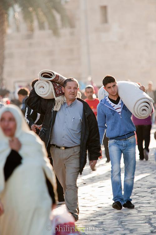 Two men in Sousse, Tunisia