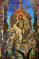 """France, Paris, Musée Gustave Moreau, 14 rue de la Rochefoucauld, """"Jupiter et Semelé"""" // France, Paris, Gustave Moreau museum,  """"Jupiter et Semelé"""""""