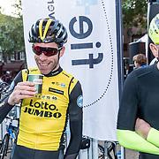 NLD/Amersfoort/20180929 - Bn-er fietsen de Zuiderzee Klassieker 2018, Bram Tankink en Gert Jacobs