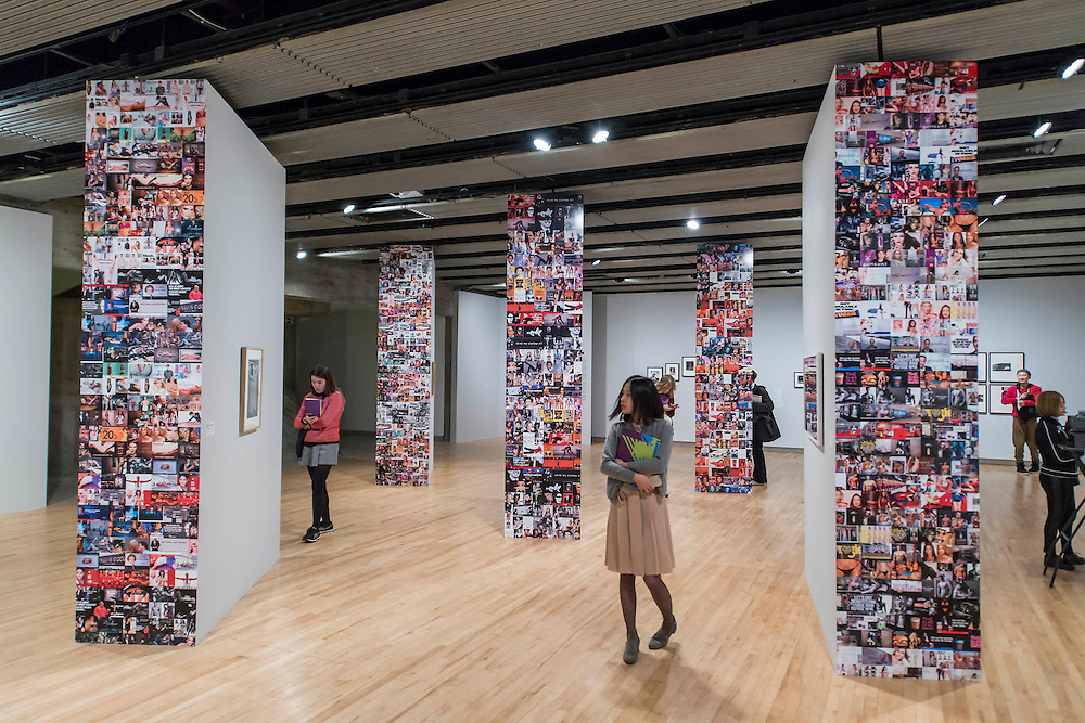 History Is Now - a new exhibition  at Hayward Gallery. It has been curated by 7 leading British artists - John Akomfrah, Simon Fujiwara, Roger Hiorns, Hannah Starkey, Richard Wentworth, and Jane and Louise Wilson. History Is Now is the first historical show in an UK arts institution, curated by contemporary artists, which focuses specifically on British post-war history. The artists have chosen to explore a wide range of subjects from the BSE crisis to the women protesters at Greenham Common. Highlights include: A decommissioned Bristol Bloodhound Missile on the Hayward Gallery terraces; the historical Festival of Britain Mural by key British art figure Ben Nicholson, on its first return to the Southbank Centre site since the 50s; and iconic works by leading contemporary British artists, including Damien Hirst's Formaldehyde Cow heads and Richard Hamilton's The State,1993. The exhibition will run from 9 February - 26 April 2015 on the Southbank, London.