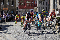 Kasia Niewiadoma (POL) at La Flèche Wallonne Femmes 2018, a 118.5 km road race starting and finishing in Huy on April 18, 2018. Photo by Sean Robinson/Velofocus.com