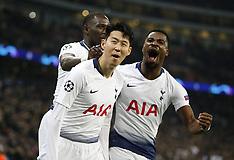 Tottenham Hotspur v Borussia Dortmund - 13 Feb 2019