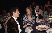 Hugh Crossely, Princess Isabelle zu Hohenlohe and Ed van Cutsem, Game Conservancy 26th London Ball, Battersea Park. 13 May 2004. SUPPLIED FOR ONE-TIME USE ONLY> DO NOT ARCHIVE. © Copyright Photograph by Dafydd Jones 66 Stockwell Park Rd. London SW9 0DA Tel 020 7733 0108 www.dafjones.com