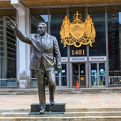 Mayor Frank Rizzo Statue in Philadelphia