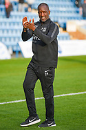 Southend United manager Chris Powell applauds the fans during the EFL Sky Bet League 1 match between Gillingham and Southend United at the MEMS Priestfield Stadium, Gillingham, England on 13 October 2018.