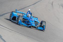 February 9, 2018 - Avondale, Arizona, United States of America - February 09, 2018 - Avondale, Arizona, USA:  Ed Jones (10) takes his IndyCar Verizon car through the turns during the Prix View at ISM Raceway in Avondale, Arizona. (Credit Image: © Walter G Arce Sr Asp Inc/ASP via ZUMA Wire)
