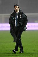 """Andrea Stramaccioni Inter<br /> Bergamo 10/11/2012 Stadio """"Azzurri d'Italia""""<br /> Football Calcio Serie A 2012/13<br /> Atalanta v Inter<br /> Foto Insidefoto Paolo Nucci"""