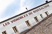 Les Vignobles du Rivesaltes cooperative. Rivesaltes town, Roussillon, France