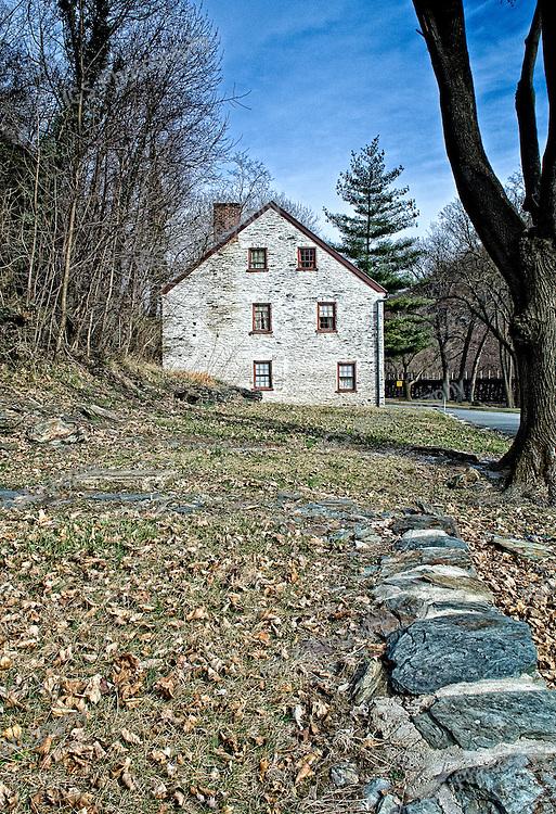 Shenandoah Street in Harpers Ferry West Virginia