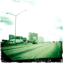 On route to Downtown Orlando, holiday 2012. Photo taken with the Hipstamatic photo application on Apple iPhone 4.