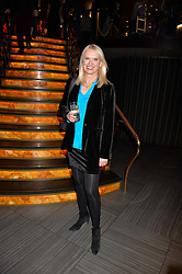 Anneka Rice at the Costa Book of The Year Awards held at Quaglino's, 16 Bury Street, London England. 31 January 2017.