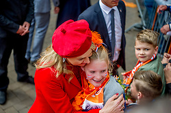 Queen Maxima attending King's Day Celebrations in Groningen, Netherlands, on April 27, 2018. Photo by Robin Utrecht/ABACAPRESS.COM