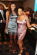 Miami Beach, Florida, NY-June 23: (L-R)Actresses Sky Grey and  Maiinda Williams attend the 2012 American Black Film Festival Winners Circle Awards Presentation held at the Ritz Carlton Hotel on June 23, 2012 in Miami Beach, Florida (Photo by Terrence Jennings)