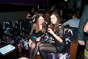 RUBY WEATHERALL; LUCIA ST. CLAIR;, The Tatler Little Black Book party. Chinawhite club. London. 21 November 2009