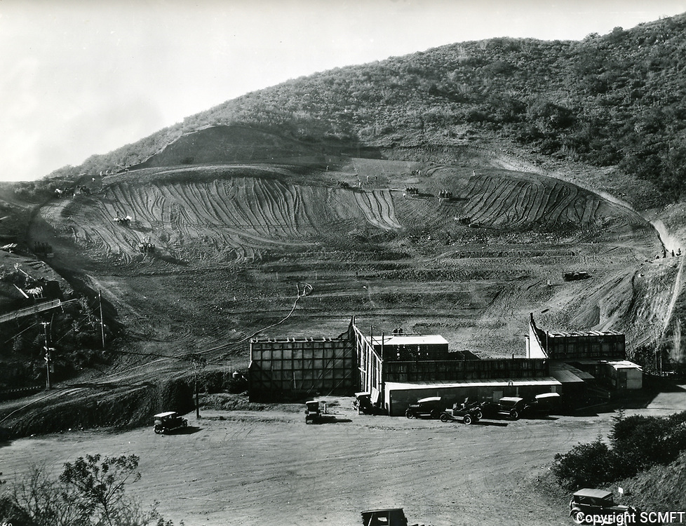 1926 Grading for the new Hollywood Bowl