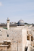 Israel, Jerusalem Old City, Temple mount Al-Aqsa Mosque