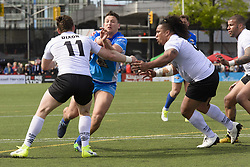 May 20, 2017 - Toronto, Ontario, Canada - MATTY WHILE (25) in action during the Rugby League game between  game between Toronto Wolfpack and Barrow Raiders (Credit Image: © Angel Marchini via ZUMA Wire)