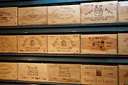 Fine wines Chateau Smith Haut Lafite, Leoville Poyferre, Clos du Marquis, Chateau Prieure-Lichine, Chateau Pontet-Canet, Pichon Longueville, at Vignobles et Chateaux wine merchant in St Emilion, Bordeaux, France