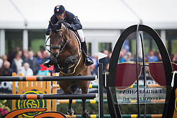 De Ponnat Aymeric (FRA) - Armitage Boy <br /> Furusiyya FEI Nations Cup<br /> Longines Spring Classic of Flanders<br /> CSIO5 Jumping Lummen 2014<br /> © Dirk Caremans