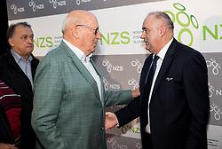 Ivo Daneu and Radenko Mijatovic, president of NZS during Traditional New Year party of of the Slovenian Football Association - NZS, on December 20, 2018 in Gospodarsko razstavisce, Ljubljana, Slovenia. Photo by Vid Ponikvar / Sportida