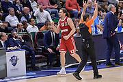 DESCRIZIONE : Eurolega Euroleague 2015/16 Group D Dinamo Banco di Sardegna Sassari - Brose Basket Bamberg<br /> GIOCATORE : Janis Strelnieks<br /> CATEGORIA : Ritratto Esultanza<br /> SQUADRA : Brose Basket Bamberg<br /> EVENTO : Eurolega Euroleague 2015/2016<br /> GARA : Dinamo Banco di Sardegna Sassari - Brose Basket Bamberg<br /> DATA : 13/11/2015<br /> SPORT : Pallacanestro <br /> AUTORE : Agenzia Ciamillo-Castoria/L.Canu