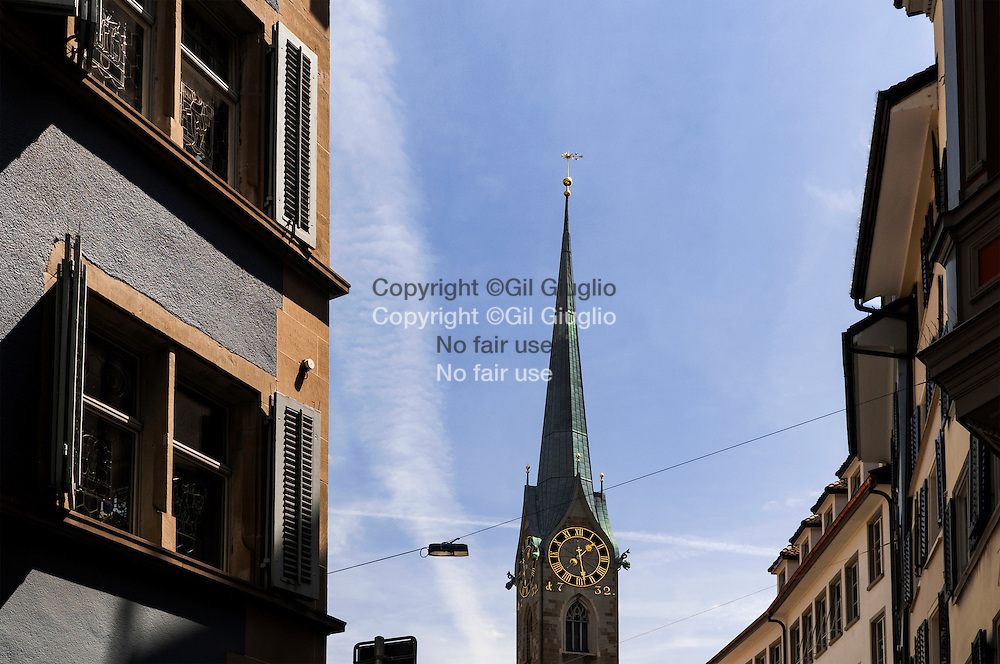 Suisse, Canton de Zurich, ville de Zurich, vieille-ville // Switzerland, Zurich canton, city of Zurich, old town