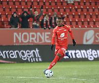 Fotball , 8. november 2019 , Eliteserien , Brann - Odd<br /> Gilbert Koomson , Brann