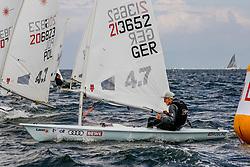 , Kieler Woche 16.06. - 24.06.2018, Laser 4,7 - GER 213652 - Mewes WIEDUWILD - Verein Seglerhaus am Wannsee
