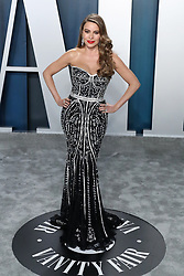BEVERLY HILLS, LOS ANGELES, CALIFORNIA, USA - FEBRUARY 09: 2020 Vanity Fair Oscar Party held at the Wallis Annenberg Center for the Performing Arts on February 9, 2020 in Beverly Hills, Los Angeles, California, United States. 09 Feb 2020 Pictured: Sofia Vergara. Photo credit: Xavier Collin/Image Press Agency/MEGA TheMegaAgency.com +1 888 505 6342