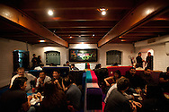 A room of Ayahuasca Bar, considered one of the 35 best bars in the world, located in a historic house in Barranco