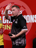Chris Dobey during the 2018 Players Championship Finals at Butlins Minehead, Minehead, United Kingdom on 24 November 2018.