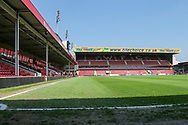 Ground View during the UEFA European Under 17 Championship 2018 match between England and Italy at the Banks's Stadium, Walsall, England on 7 May 2018. Picture by Mick Haynes.