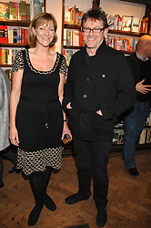 ROSE PRINCE and NIGEL SLATER at a party to celebrate the publication of The New English Table by Rose Prince held at The Daunt Bookshop, Marylebone High Street, London on 9th April 2007.<br /><br />NON EXCLUSIVE - WORLD RIGHTS
