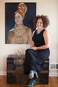 Rachel Dolezal photographed at/near her home in Spokane, Washington, USA on Thursday, June 16, 2016. A year ago she was embroiled in a controversy that cost her the life she once had.