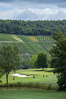TRIER (Treves) - Duitsland - hole 9 van GCT, Golf Club Trier. . COPYRIGHT KOEN SUYK