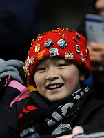 Photo: Tony Oudot/Sportsbeat Images.<br /> Chelsea v Liverpool. Carling Cup, Quarter Final. 19/12/2007.<br /> A young Liverpool fan
