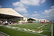 January 27 2016: Wheeler Army Base was the host of the Pro Bowl Draft at Wheeler Army Base on Oahu, HI. (Photo by Aric Becker/Icon Sportswire)
