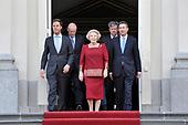 Kabinet-Rutte met koningin Beatrix