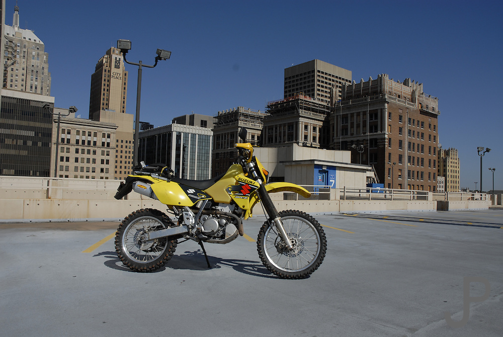 Urban dual sport riding in OKC