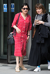 © Licensed to London News Pictures. 26/05/2019. London, UK. SHAMI CHAKRABARTI (left) is seen leaving BBC Broadcasting Houses in London. A number of Conservative MPs have entered the race to be the new leader of the party. Photo credit: George Cracknell Wright/LNP