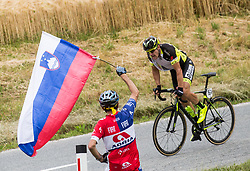 Vojtech Hacecky (CZE) of Elkov-Author Cycling team during Stage 2 of 24th Tour of Slovenia 2017 / Tour de Slovenie from Ljubljana to Ljubljana (169,9 km) cycling race on June 16, 2017 in Slovenia. Photo by Vid Ponikvar / Sportida