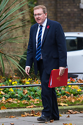 Downing Street, London, November 3rd 2015.  Scotland Secretary David Mundell arrives at 10 Downing Street to attend the weekly cabinet meeting. /// Licencing: Paul@pauldaveycreative.co.uk Tel:07966016296 or 020 8969 6875
