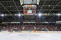 KELOWNA, CANADA - FEBRUARY 28: The Kelown Rockets fans fill the arena against the Calgary Hitmen on February 28, 2015 at Prospera Place in Kelowna, British Columbia, Canada.  (Photo by Marissa Baecker/Shoot the Breeze)  *** Local Caption *** fans;