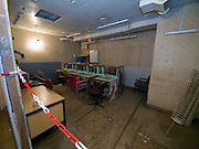 Room inside the Honecker Bunker in Prenden.