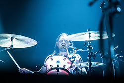 Nathan Followill. Kings of Leon on stage tonight at the SSE Hydro.