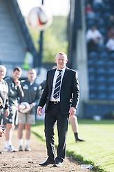 Falkirk's manager Gary Holt.<br /> Raith Rovers 1 v 1 Falkirk, Scottish Championship 28/9/2013.<br /> ©Michael Schofield.