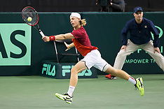 Davis Cup 2017 -- GB at Canada, Day 1